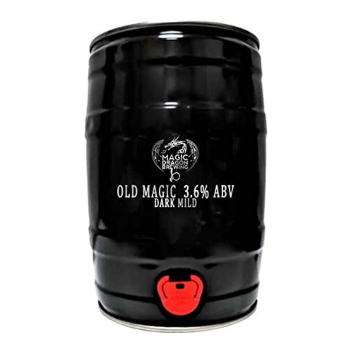 Dark Mild Cask Ale In A Mini Keg